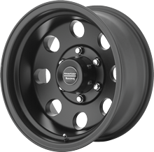 AR172 Baja American Racing Wheels in Satin Black