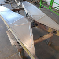 Chassis belly pans