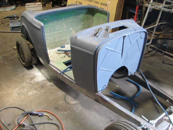 1932 Ford Roadster Body and Chassis Package work #19