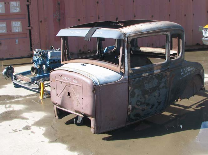 "1931 Ford 5W Coupe ""All Steel"" work #2"