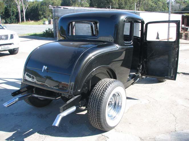 "1932 Ford 5W Coupe ""All Steel"" work #6"