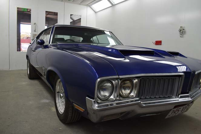 1970 Oldsmobile Cutlass work #130