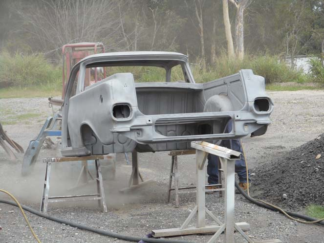 1964 EH Holden Utility work #11