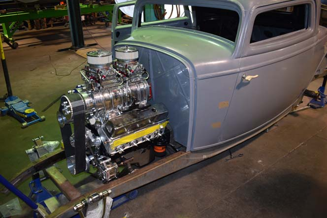 1932 Ford Coupe 3 Window work #26
