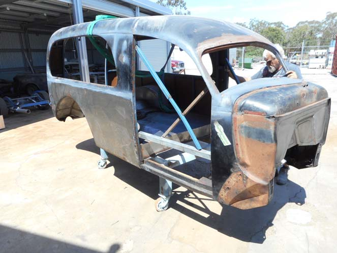 1939 Dodge Hearse work #182